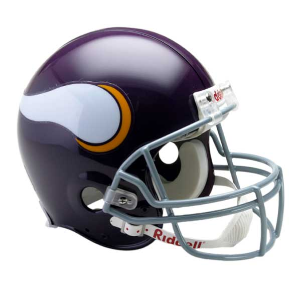 Official Nfl Viking Helmet Tarkenton Sports